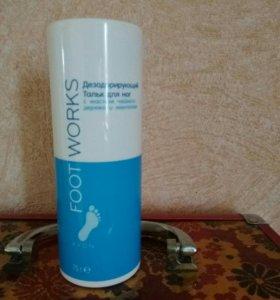 Для ног тальк дезодорирующий