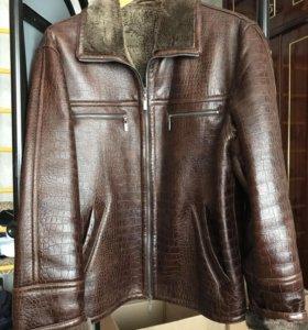 Мужская куртка-дублёнка 50 размер.