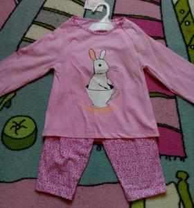Одежда для девочки 110-116 см