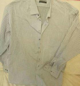 Рубашки мужские,GREG, 46,52размер, рост 180