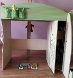 Кровать - Шкаф 2 в 1