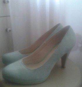 Туфли цвет мята