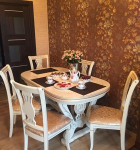 Стол 160 ->200см ЛИРА новые столы