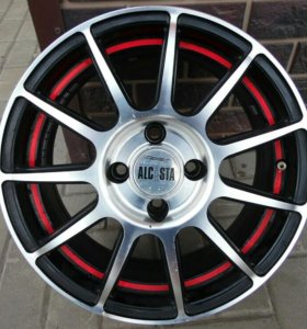 Литые диски ALCASTA M25. размер R15. 4X100