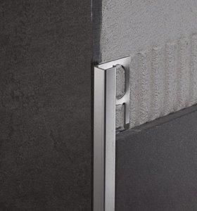 Профиль для плитки из нержавеющей стали, раскладка