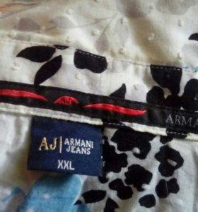 Рубашка мужская Армани