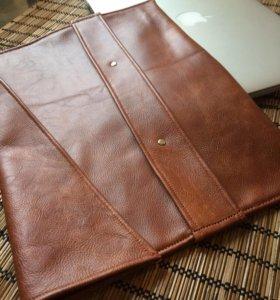 Кожаный конверт для ноутбука