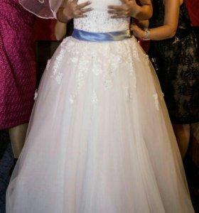 Пышное воздушное платье для настоящей принцессы!
