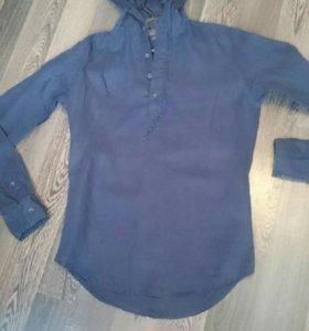 Zara мужская рубашка