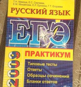 Тест ЕГЭ по русскому языку