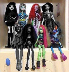 Куклы monster high, equestria girls