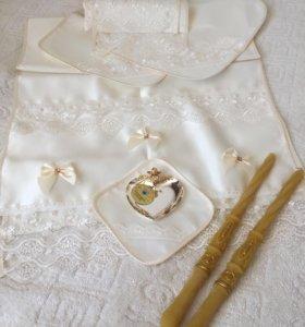 Венчальный набор- НОВЫЙ - ручная работа