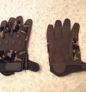 Перчатки камуфлированные