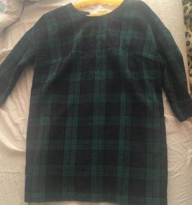 Тёплое платье - туника