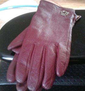 Перчатки кожа турция