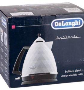 Электрочайник De'Longhi brilliante KBJ 2001.W