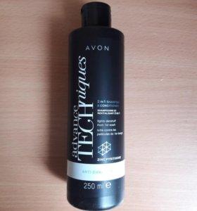 2в1 шампунь/ополаскиватель для волос