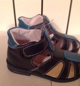 Новые ортопедические сандали натуральная кожа 14см