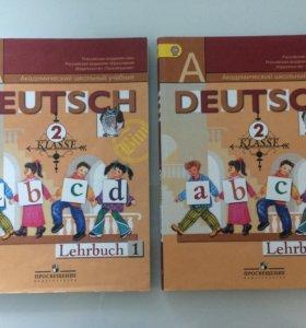 Учебники по немецкому языку 2 класс 2 части