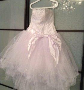 """Дизайнерское свадебное платье """"Юнона"""" р. 44-46"""
