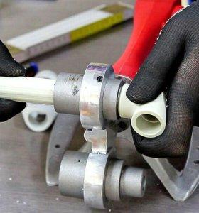 Монтаж водопровода и отопления ремонт газ/оборудов