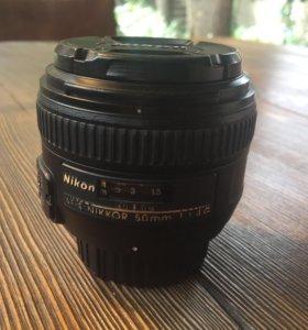 Nikon 50 1.4 G