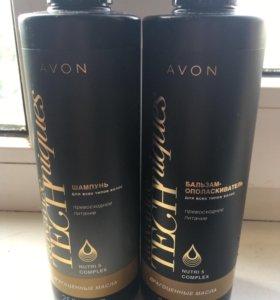 Avon шампунь + бальзам для волос