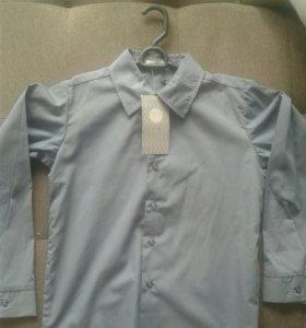 Рубашка на мальчика, 7-8 лет, Новая!