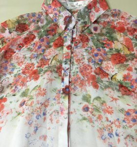 Блузка рубашка р44-46