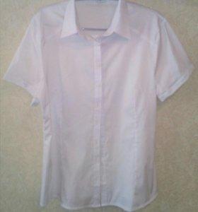 Блуза приталенная, классическая
