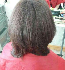 Стрижки,покраска волос,мелирование.