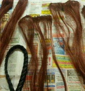 Искусственные волосы для кукол
