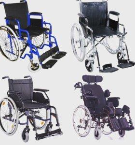 Кресла-коляски в наличии и на заказ от 6000 руб.
