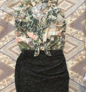 Новая блузка H&M 42-44