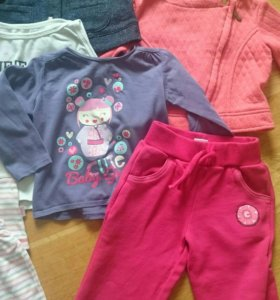 Детские вещи пакетом для девочки