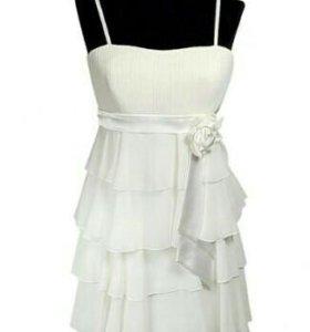 Платье белое р. 42-46