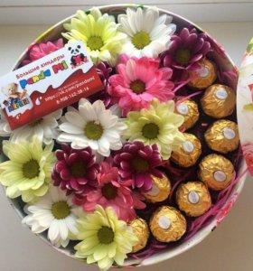 Сладкие Коробочки с цветами