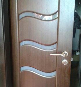 Дверь для ванной комнаты без коробки