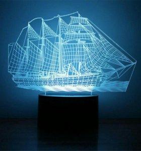 3D Светильник,ночник