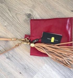 Новая кожаная сумка Francesco Marconi