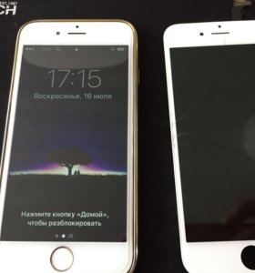 Стекло и дисплей для iPhone 4,4s,5,5s,6,6s+ замена