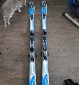 Лыжи К2  рост. 160см. Ботинки dalbello 42 р