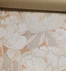 Обои бумажные 'Цветы'