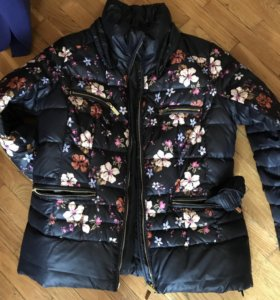 Куртка осенняя размер 48