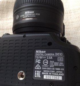 фотоаппарат Никон с объективом