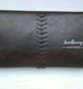 Стильное мужское Портмоне Baellerry Leather