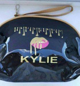Косметичка Kylie. Розовая и черная