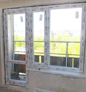 Окна Пластиковые ПВХ