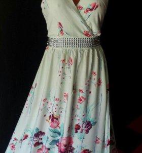 Новое платье-сарафан!