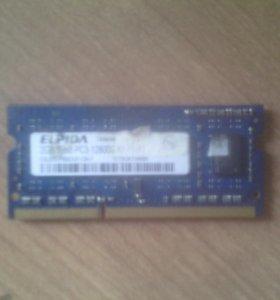 DDR3 для ноутбука